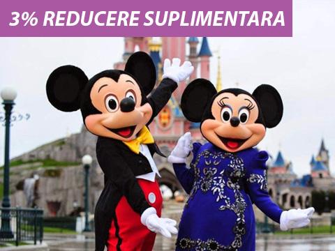 Early booking 2019 - Disney's Hotel Cheyenne® 2* - 25% reducere si demipensiune gratuita (4 nopti / 5 zile)